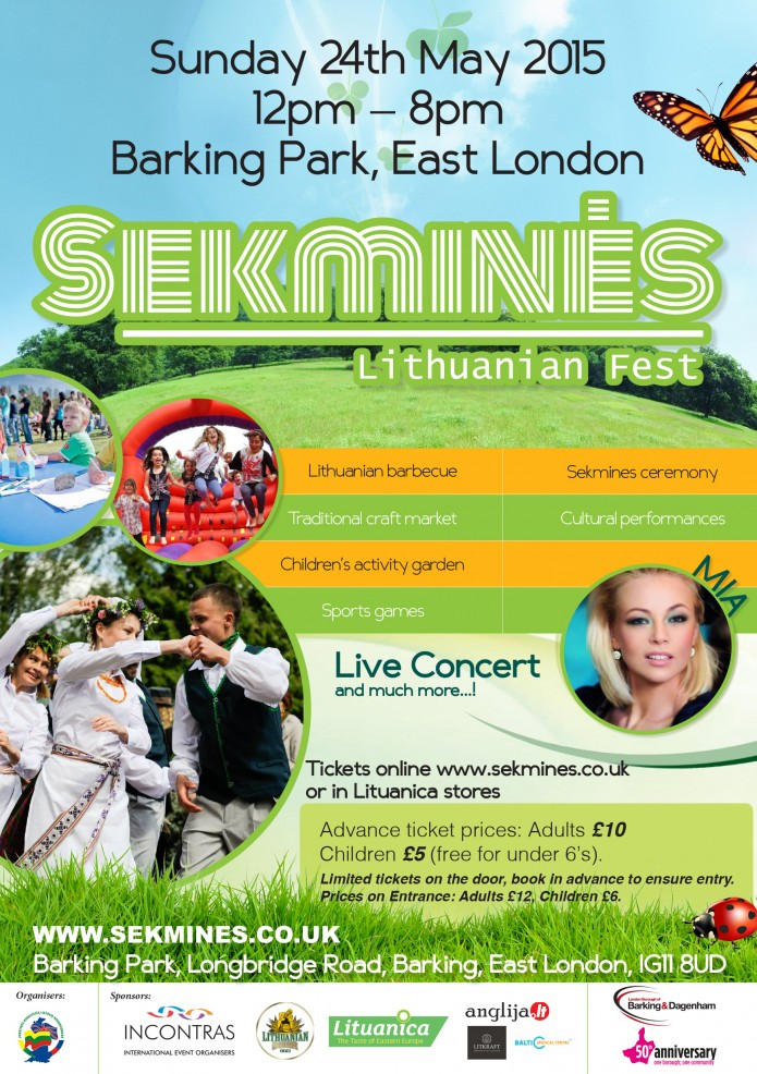 Sekmines Barking 24th May 50th Anniversary